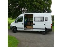 Vauxhall Movano Campervan Conversion
