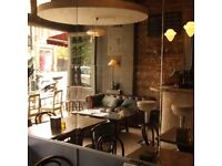 Experienced Bar Person/Waiter for small, friendly, professional Tapas Bar, NW/Central London