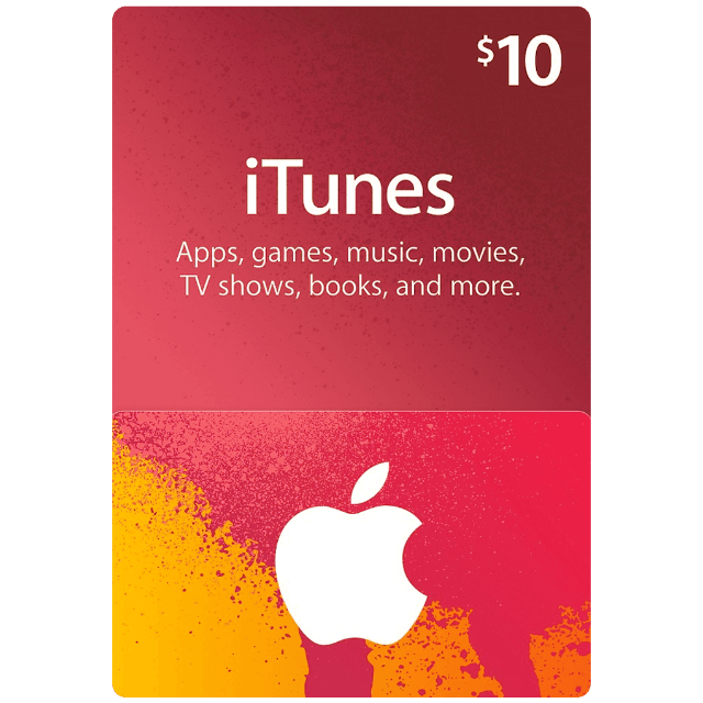Apple iTunes Gift Card $ 10 USD - Valid for USA