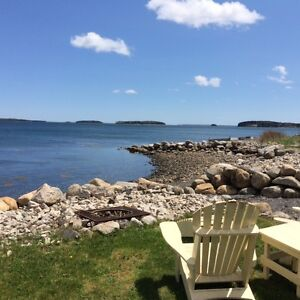 Oceanfront property overlooking Islands of Mahone Bay