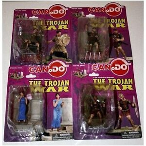 Can Do DRAGON ARMOR 1-24 The Trojan War figures set of 4 DIORAMA Kitchener / Waterloo Kitchener Area image 1
