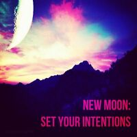 New Moon Guided Meditation and Reading