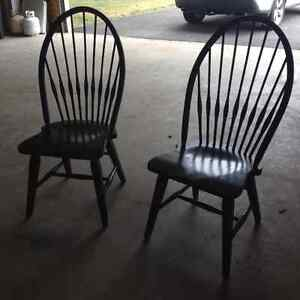 Windsor chairs & pictures