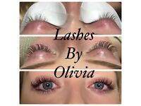 High quality semi permanent individual eyelashes