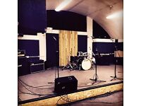 Engine Rooms Rehearsal Studios || Solo Rates from £5ph*