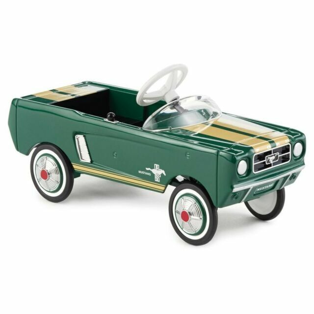1965 FORD MUSTANG KIDDIE CAR CLASSIC HALLMARK LIMITED EDITION - $48.79