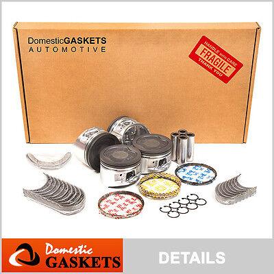 91-95 Toyota Previa 2.4L DOHC Full Gasket Piston Main&Rod Bearing&Ring Set 2TZFE