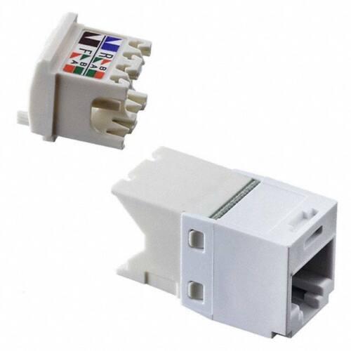 Panduit CJ688TGWH Mini-Com® TX6™ PLUS TG Style UTP Jack Module, White Qty 24