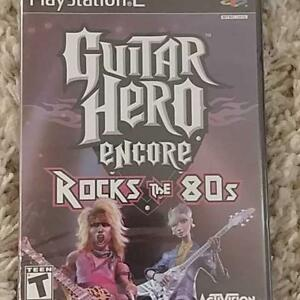 Guitar hero encore playstation