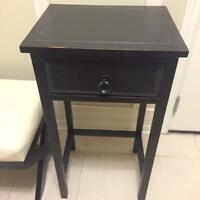 Rustic Modern Contemporary Distressed Hall Table Side Table