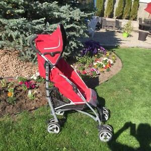 Light weight collapsible stroller