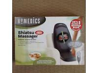 Shiatsu heated back massager