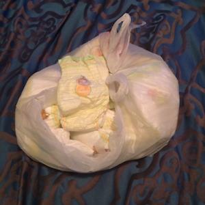 22 huggie diapers
