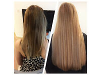 ~English Rose Extensions~ Birmingham city centre salon, 100% human hair micro ring extensions