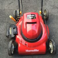 LAWN MOWER - ELECTRIC CORDED HOMELITE 18 INCH (NEW!)