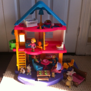 Fisher-Price My First Dollhouse + extras
