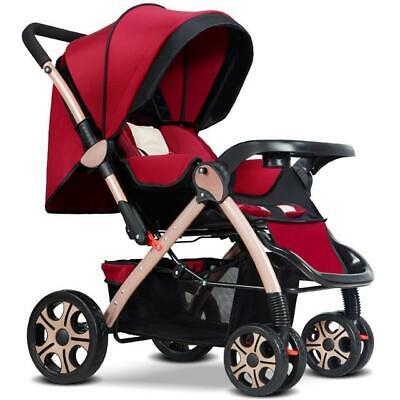 Baby carriage Stroller Large wheel Big Pram Pushchair