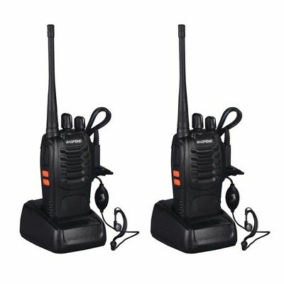 2PCS Baofeng BF-888S Two Way Radio Walkie Talkie Wireless Handheld UHF400-470MHz for sale  North York