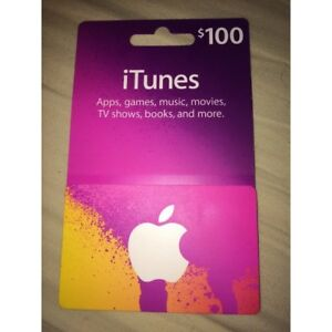 $100 CDN APPLE CARDS FOR $90