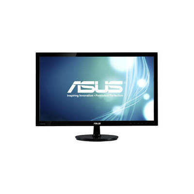 "Widescreen LED Monitor ASUS 24"" Computer Games Movies Videos"
