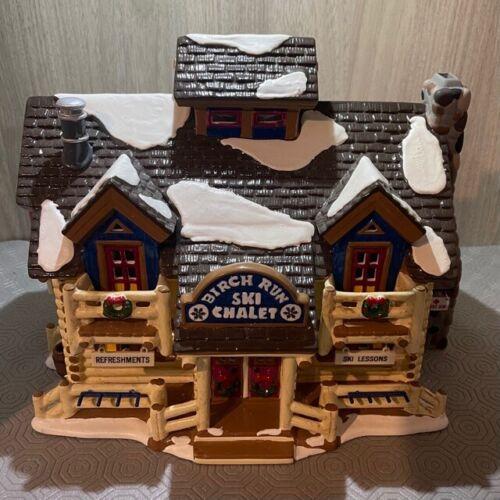 Dept 56 Original Snow Village Series 1996 BIRCH RUN SKI CHALET 54882 Retired