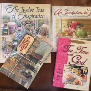 10 brand new tea and recipe books from England - See pics