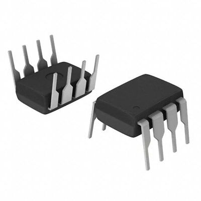 2x Atmel At93c46pc 1k 3-wire Serial Eeprom 8-dip