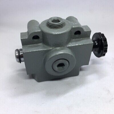Prince Hydraulic Selector Valve 3-way2-position 12 Npt 2500 Psi Ss-2a1d
