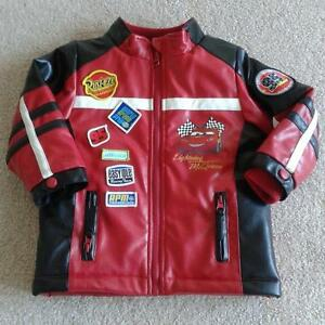 Lighting McQueen faux leather jacket