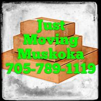 We are a local mover from Muskoka