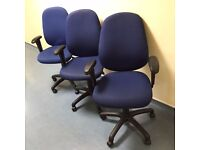 3 Office Chair with Armrests - £60 for all or £25 each