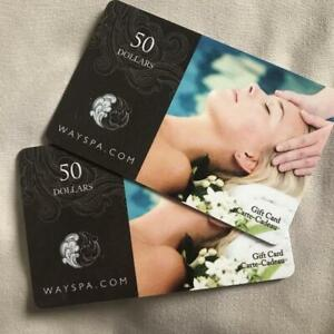 DAY SPA CARD [$50 for $25]