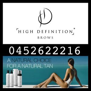 High Definition Eyebrow Stylist&Spray Tan Technician Canning Vale Canning Area Preview