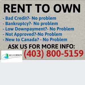$10,000 Downpayment for a house in Calgary