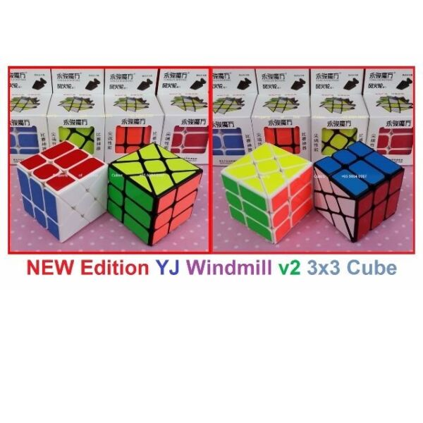 =  NEW Edition YJ Windmill v2 3x3  for sale in Singapore !
