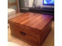 John Lewis Solid SHEESHAM Coffee Table / Trunk / Chest