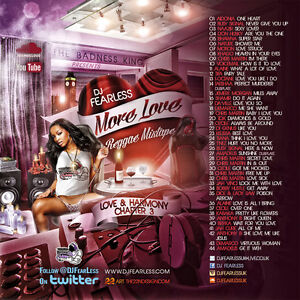MORE LOVE REGGAE LOVERS ROCK MIX CD 2014