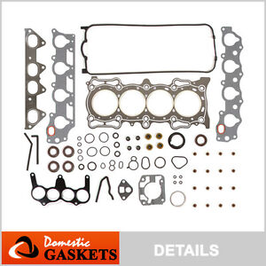 94-97 Honda Accord EX 1997 VTEC Acura CL 2.2L SOHC Head Gasket Set F22B1