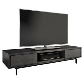 """BDI Signal 8323 Low Triple Wide Enclosed TV Stand up to 85""""-Graphite RRP £1499 New"""