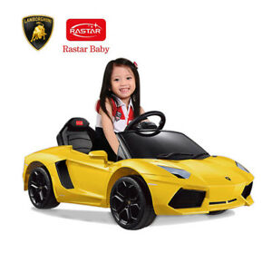 BNIB Licenced Lamborghini kids ride on cars-indoor,outdoor fun