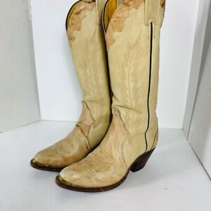 *BOULET - woman boots size 6 US - leather / cuir*