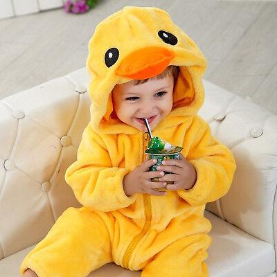 Baby Jungen Mädchen Ente Ostern Huhn Tier Kostüm Kleid Outfit 9mths-3yrs
