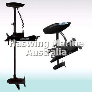 Bow Mount Electric Trolling Boat Motor Haswing Cayman B 55lbs 12V