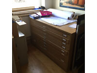 8 Drawer Plan Chests (3 available)