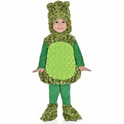 Big Mouth Halloween Costume (UNDERWRAPS BELLY BABIES BIG MOUTH FROG  KID'S HALLOWEEN COSTUME ASST SIZES NEW )
