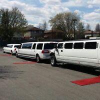 Oakville Mississauga Brampton limousine service Great limo