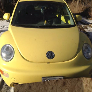 1999 Yellow VW Beetle