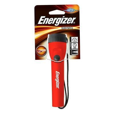 Energizer LED 2AA Lightweight Torch Light (2 x AA Battery) + Lanyard - LED2AA 2aa Energizer