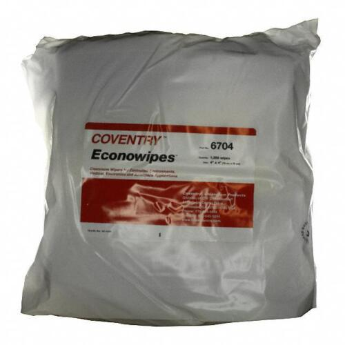 """Coventry Wipes for Controlled Environments 4""""x4"""" 1,200 wipes"""