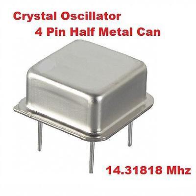 14.31818mhz 14.31818 Mhz Crystal Oscillator  Qty 10  New